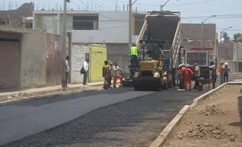 Alcalde Provincial de Huaral supervisó personalmente los avances de la obra.