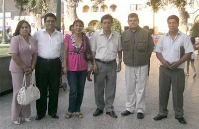 Estuvo presente el abogado Juan Sarmiento candidato a la alcaldía de la provincia de Huaral por el Movimiento Político Patria Joven