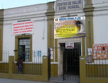 Centro de Salud Base Huaral.