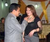 César Ochoa Ferreyra y su esposa Marina Àngulo de Ochoa.