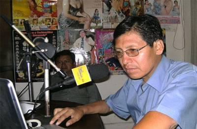 """Dr. Juan Sarmiento Verastegui, candidato de """"Patria Joven""""."""