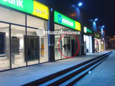 cajero automatico interbank huaral