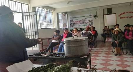 Municipalidad de Pacaraos realiza talleres productivos sobre derivados de la leche