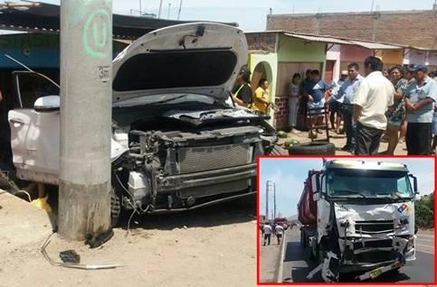 Accidente en Chancay deja dos muertos, entre ellos un menor de edad