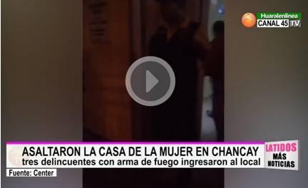 Delincuentes armados asaltaron La Casa de la Mujer en Chancay