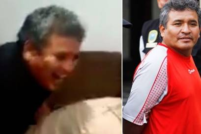 Encarcelado alcalde de Chilca es grabado haciendo tocamientos a una funcionaria