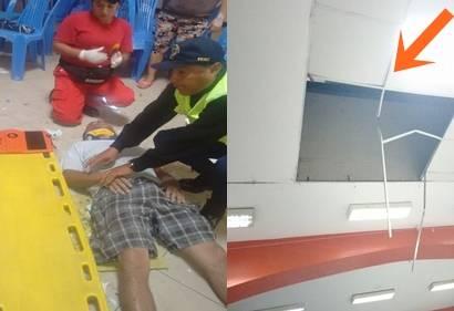 Hombre cae desde segundo piso y vive  en Huaral