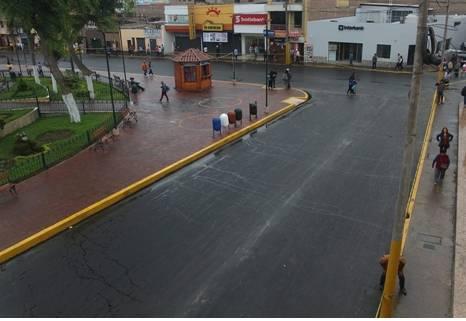 Seguimos avanzando Mantenimiento de transitabilidad de las principales calles de Huaral