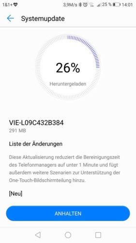 Huawei P9 Plus Update B384