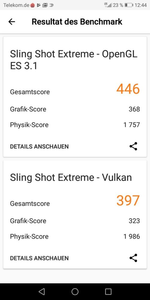 3DMark honor 7C Benchmark