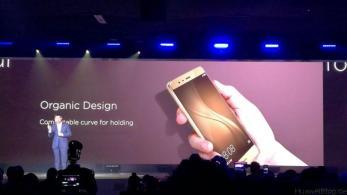 Huawei P9 - Präsentation - London - Display vs. iPhone 6