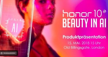 honor 10 Beauty in AI Titelbildl