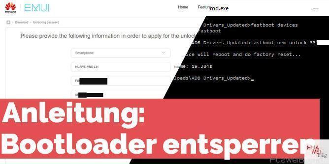 Anleitung: Bootloader bei Huawei-Geräten entsperren