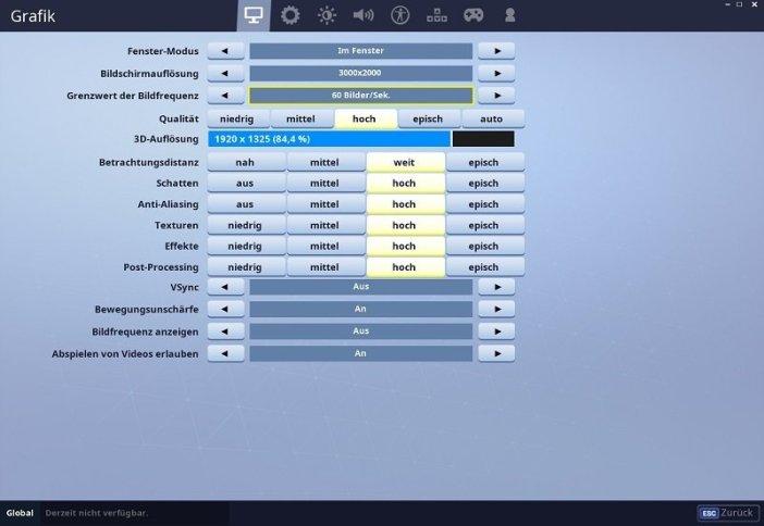 Huawei Matebook X Pro Test Fortnite