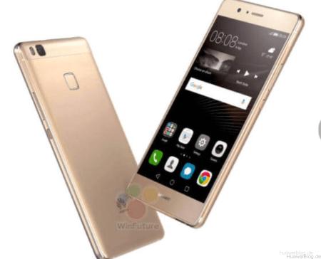 Huawei, P9 Lite, gold,Front, Rückseite