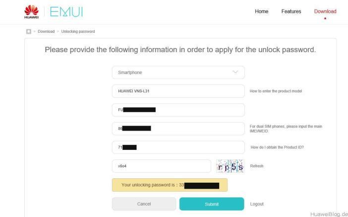 Huawei Bootloader Unlock 7