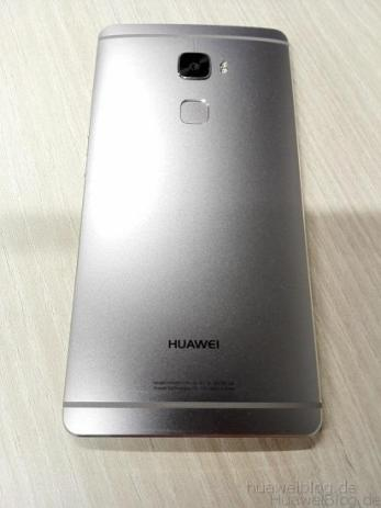 Huawei Mate S Back
