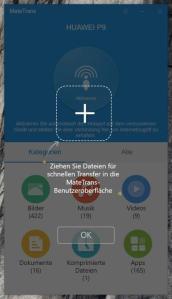 Huawei MateTrans Datenübertragung