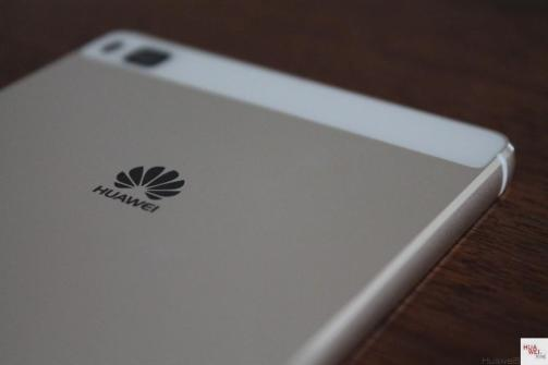 Huawei P8 - Rückseite - Logo - Kamera