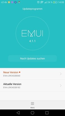 Huawei P9 Nougat B360 offiziell