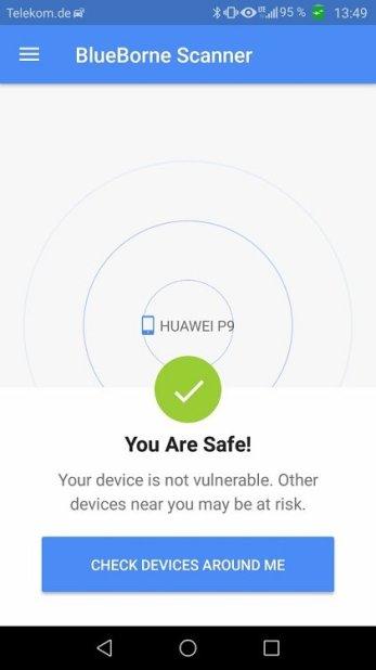 Huawei P9 Update B391 Blueborne
