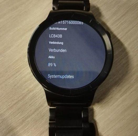 Huawei Watch Firmware Update LCB43B