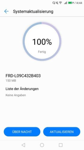 honor 8 Firmware Update B403