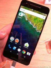 Nexus 6P gold - CES 2016