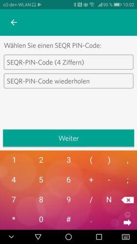 SEQR_PIN_CODE_wählen