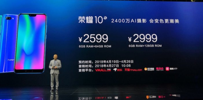 honor 10 Preis China