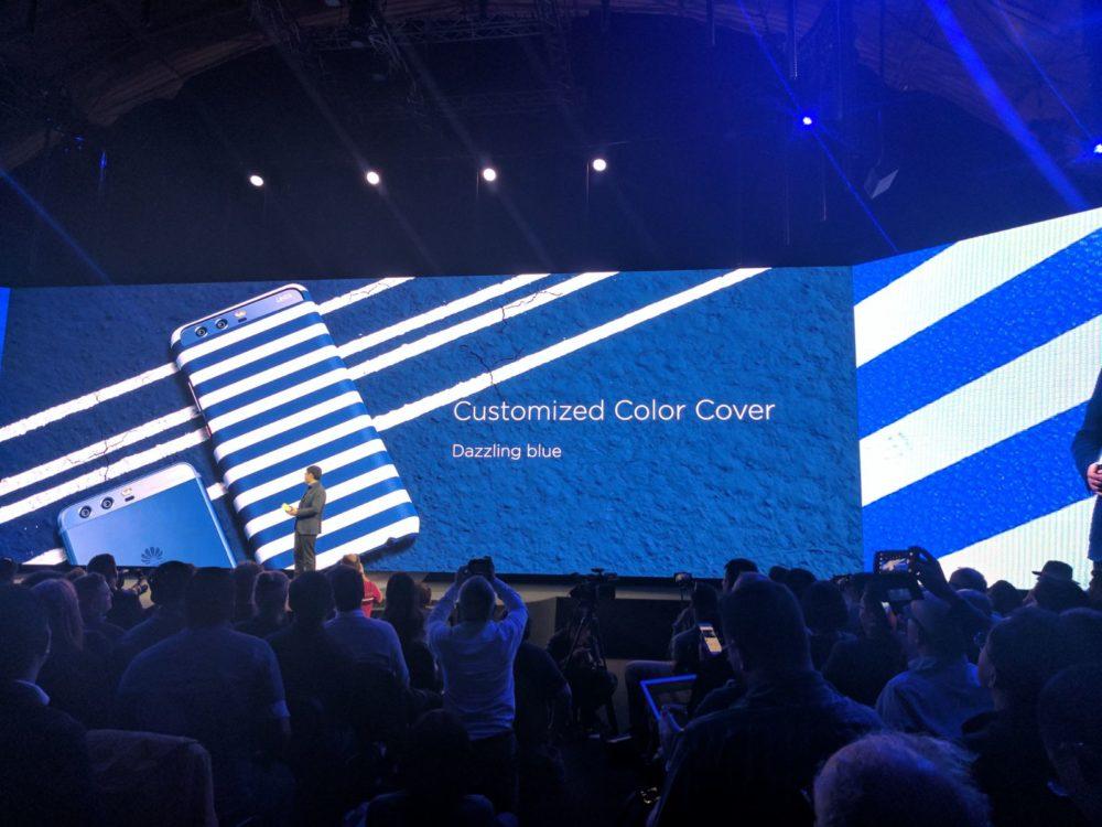 Huawei P10 - Zubehör - Case - Dazzling blue - blau