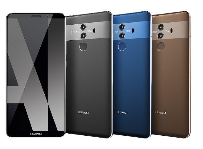 Huawei Mate 10 Pro Gruppenaufnahme