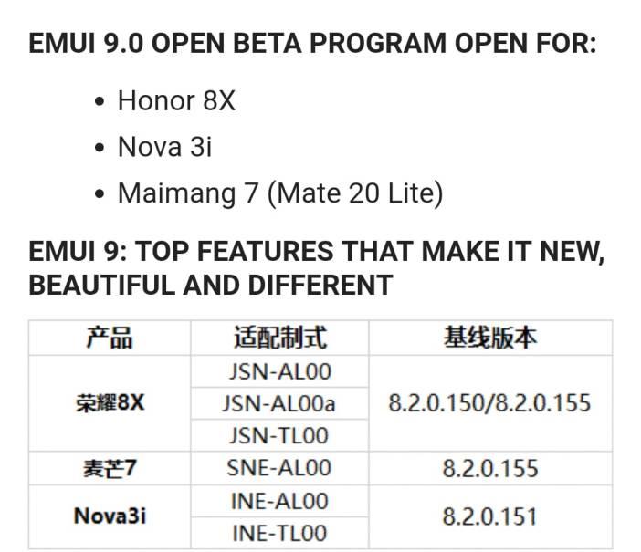 Android 9 Beta für Mate 20 lite und P Smart Plus in China gestartet 1