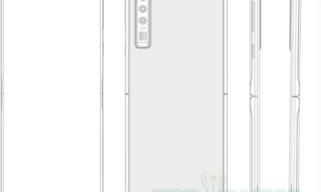 flip folding screen patent
