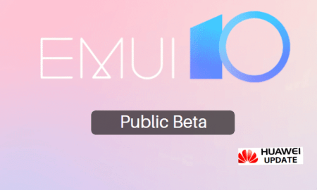 EMUI 10 Public Beta China