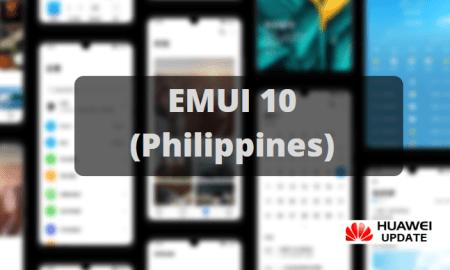 EMUI 10 update Philippines