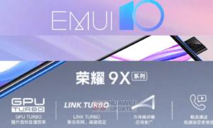 Honor 9X EMUI 10 public beta