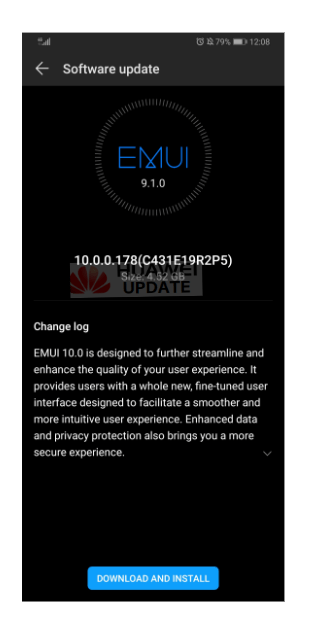 Huawei P30 Pro EMUI 10 Vodafone