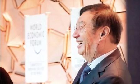 Ren Zhengfei Davos