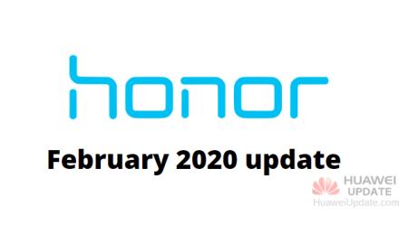 Honor February 2020 update