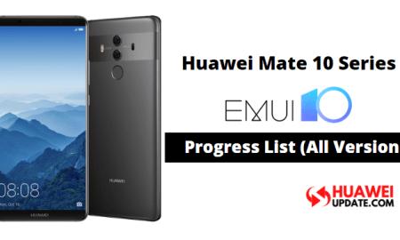 Huawei Mate 10 Series EMUI 10 Updates