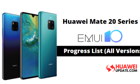 Huawei Mate 20 Series EMUI 10 Updates