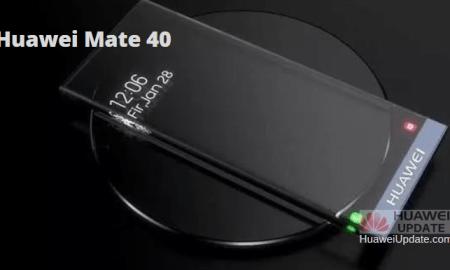 Huawei Mate 40 transparent