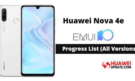 Huawei Nova 4e emui 10