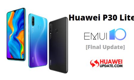 Huawei P30 Lite EMUI 10 Global