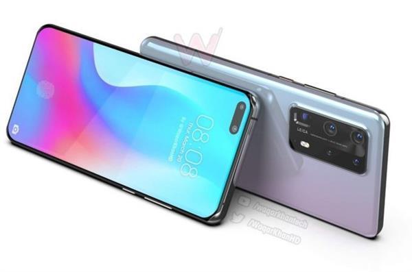 Huawei P40 Pro Premium renders