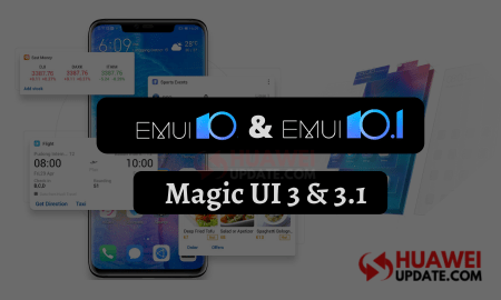 EMUI 10.1 and Magic UI 3.1