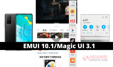 Honor 30S 5G Magic ui 3.1