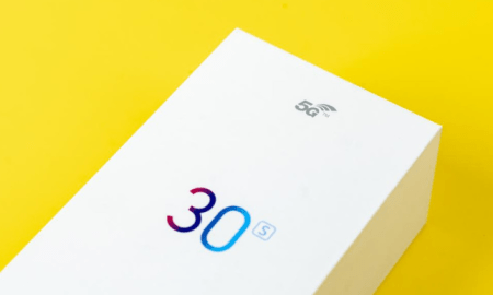Honor 30S retail box image