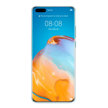 Huawei P40 Pro Front View